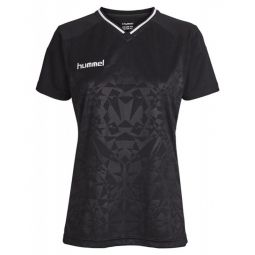 Womens hummel Sirius V-Neck Training T-shirt