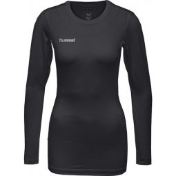 Womens hummel First Performance LS Training T-shirt