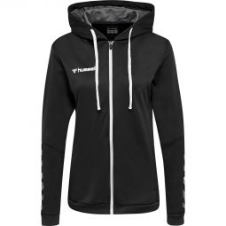 Womens hummel Authentic Poly Zip Hoodie Training Jersey