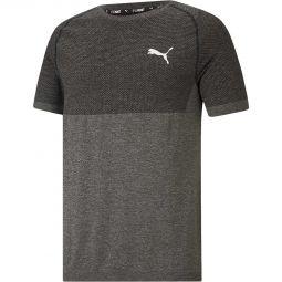 Mens Puma Evoknit Basic Running T-shirt