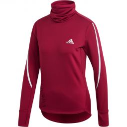 Womens adidas Cold Ready Cover Up Running Jersey