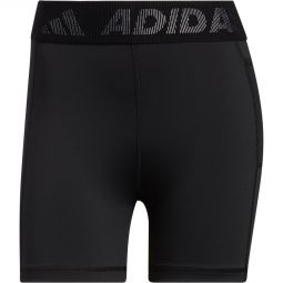Womens adidas Tech Fit 3 Bar Short Training Tights