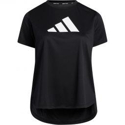 Womens adidas Plus Badge Of Sports Logo Training T-shirt