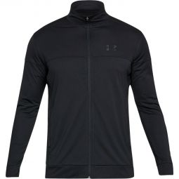 Mens Under Armour Sportstyle Pique Track Training Jersey