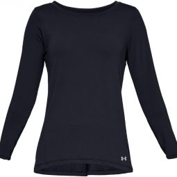 Womens Under Armour Heat Gear Armour L/S Training Jersey