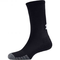 Under Armour 3-Pack Heat Gear Crew Training Socks