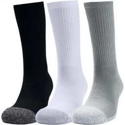 Under Armour Heat Gear 3-Pack Crew Training Socks