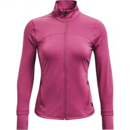Womens Under Armour Rush Full Zip Midlayer Running Jersey