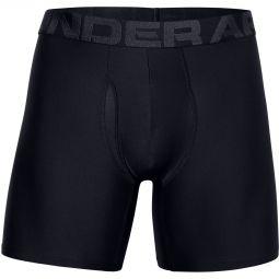 "Mens Under Armour Tech 6"" 2-Pack Boxer Shorts"