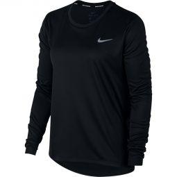 Womens Nike Miler LS Running T-shirt