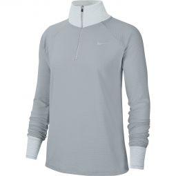 Womens Nike Sphere 1/2 Zip Running Jersey