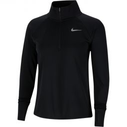 Womens Nike Plus Pacer 1/2 Zip Running Jersey