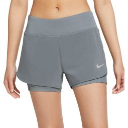 Womens Nike Eclipse 2in1 Running Shorts