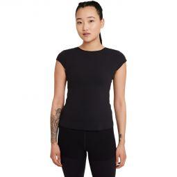 Womens Nike Yoga Luxe Training T-shirt