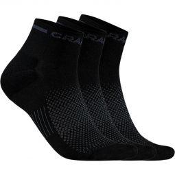Craft Core Dry 3-Pack Running Socks