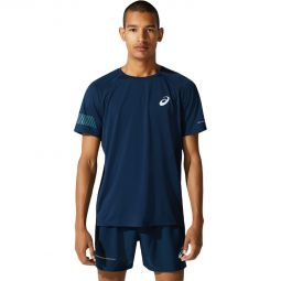 Mens Asics Visibility Running T-shirt