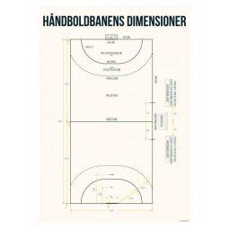 Handball Court Poster