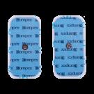 Compex 2-Pack Push Button Electrodes 5x10